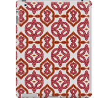 Red Roses and Yarn Decorative Grid iPad Case/Skin