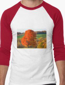 Fall Foliage Men's Baseball ¾ T-Shirt