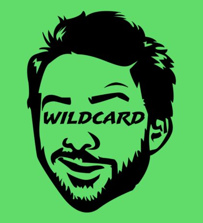 Green man Wildcard Charlie 2 Sticker