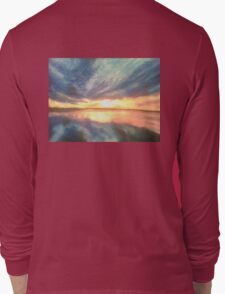 Sunrise in Pastels Long Sleeve T-Shirt