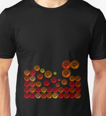 Cool exploxion in red Unisex T-Shirt