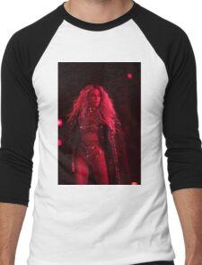Beyoncé - RED LIGHTS  Men's Baseball ¾ T-Shirt