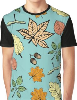 pattern from autumn leaves Graphic T-Shirt
