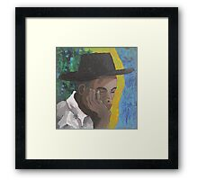 Willie the night watchie Framed Print