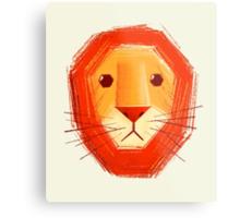 Sad lion Metal Print