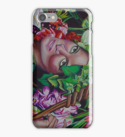 The Budding Staff Original Oil Painting Prints iPhone Case/Skin