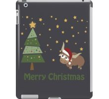 Santa Yak Christmas Scene iPad Case/Skin