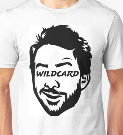 Wildcard bw Unisex T-Shirt
