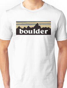 boulder logo Unisex T-Shirt