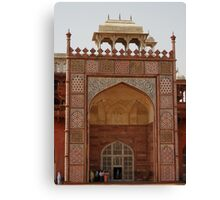 Akbar's Tomb Canvas Print