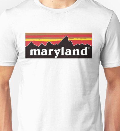 maryland logo Unisex T-Shirt