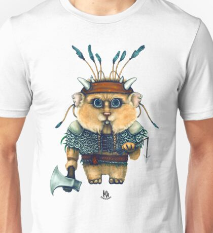 Hamster Bassi Unisex T-Shirt