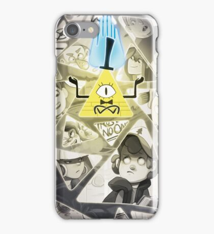 Gravity Falls Triangle Wheel iPhone Case/Skin