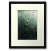 Caught Framed Print