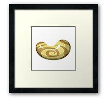 Glitch Beans bean wood Framed Print