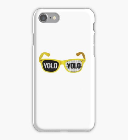 Yolo goggles iPhone Case/Skin