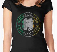 Shenanigans Irish Drinking Team Women's Fitted Scoop T-Shirt