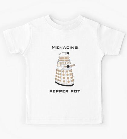 Menacing Pepper Pot. Kids Tee