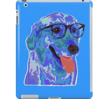 Hipster Dog iPad Case/Skin