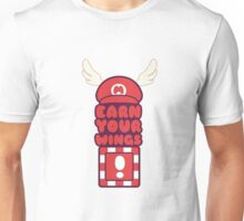 Red blocks give you wings. Unisex T-Shirt
