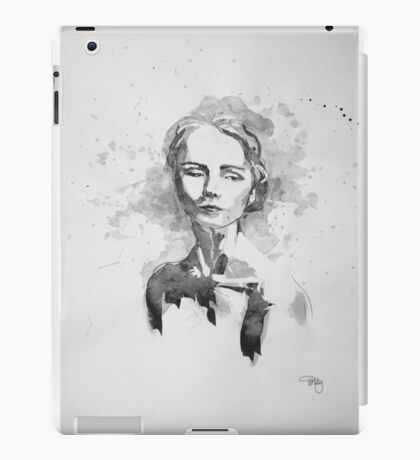 Rebecca In Ink iPad Case/Skin