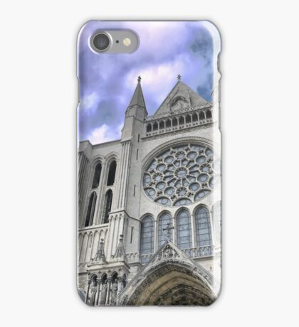 Chartres Cathedral  (1) iPhone Case/Skin