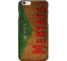 Mentats iPhone Case/Skin