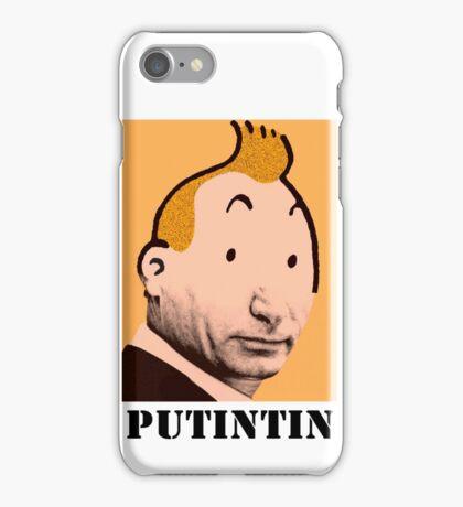 PUTINTIN iPhone Case/Skin
