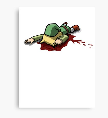 Legend of Zelda - Dead Link Canvas Print