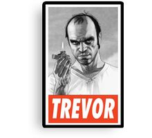 -GEEK- Trevor GTA V Canvas Print