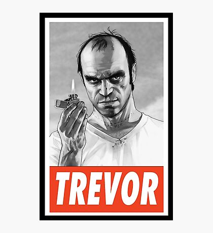 -GEEK- Trevor GTA V Photographic Print