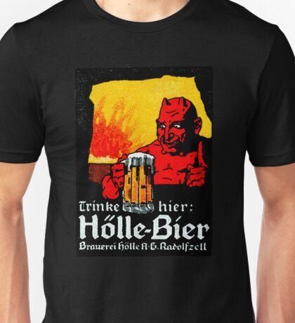 1905 Beer Drinking Devil Unisex T-Shirt