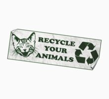 Please recycle your animals Kids Clothes