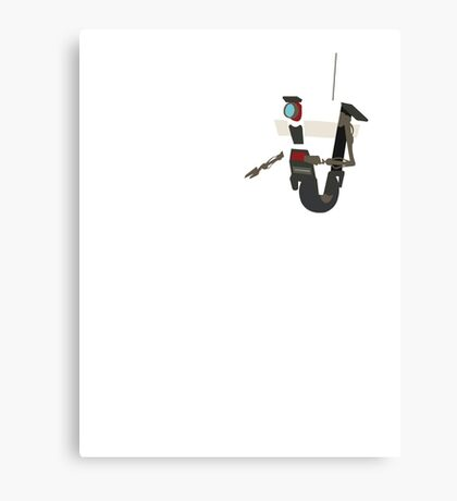 Custom Colour Claptrap Canvas Print