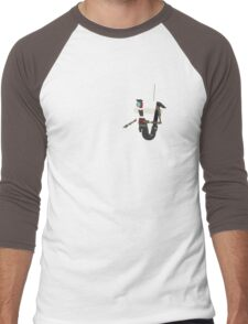 Custom Colour Claptrap Men's Baseball ¾ T-Shirt