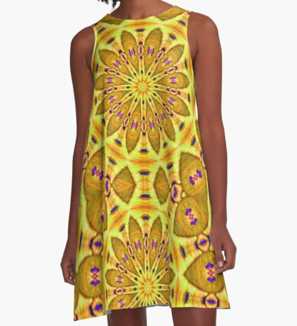 Charleston colors III A-Line Dress