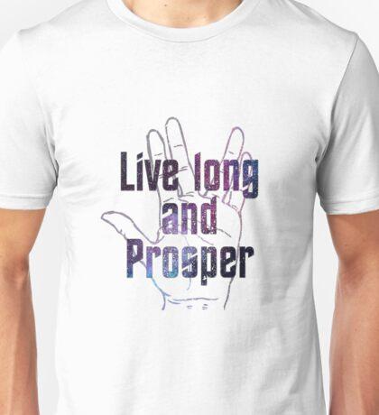 Star Trek - Live and Prosper  Unisex T-Shirt