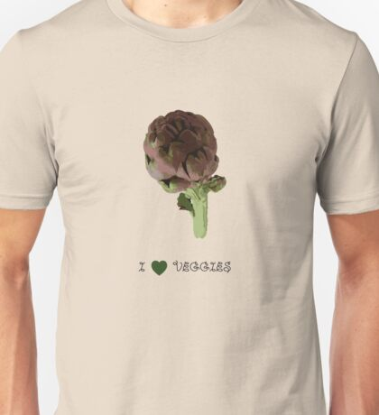 Artichoke - I love veggies Unisex T-Shirt