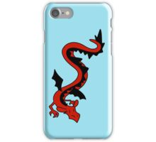 Long Red Dragon iPhone Case/Skin