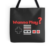 Nintendo- Wanna Play? Tote Bag