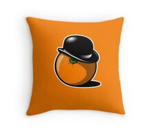 Alex DeOrange Throw Pillow