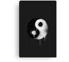 Graffiti Zen master 2 Canvas Print