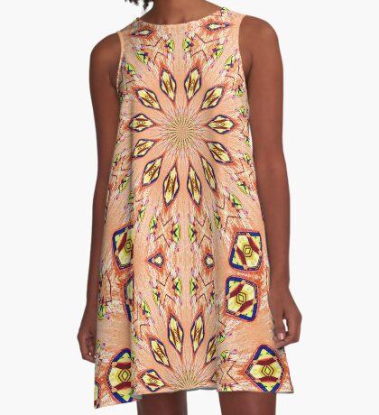 Charleston colors V A-Line Dress