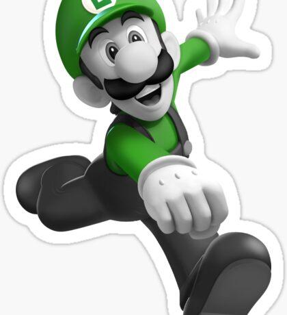 "Luigi, best friend (TO BUY IN COMBO WITH ""Mario, best friend"") Sticker"