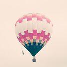 Whimsical Hot Air Balloon by Caroline Mint