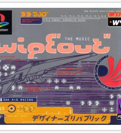 Wipeout Sticker