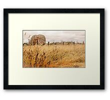 Message of Love - Rural Australia Framed Print