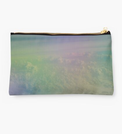 Clouds from above Studio Pouch