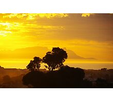 Last Sunset before Elections Photographic Print