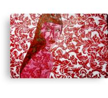 Pink Lady - Oils on Fabric Art Canvas Print
